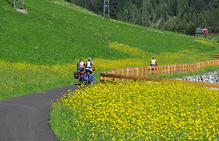 Anello delle Dolomiti in bicicletta