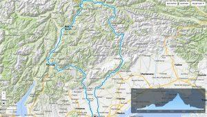 mappa generale Anello Dolomiti