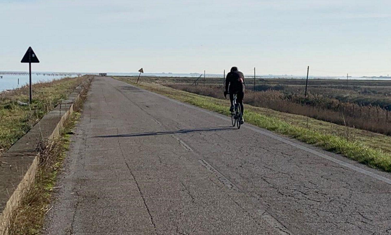 laguna veneta in bici