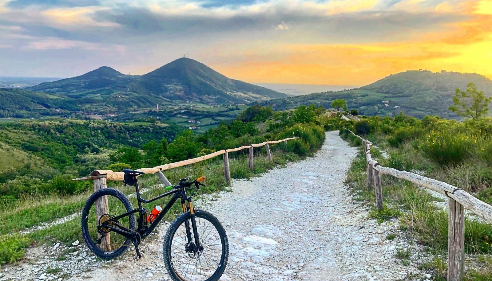 colli euganei tour in bici